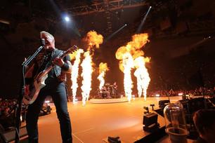 Mirá algunas imágenes del increíble show orquestal de Metallica