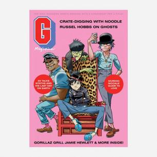 Gorillaz tiene su propia revista