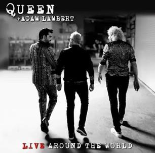 Queen y Adam Lambert lanzarán un álbum en vivo de su gira 'Live Around the World'