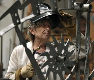 Bob Dylan diseña esculturas de hierro
