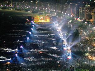 Los Rolling Stones editarán el mitico recital de Copacabana