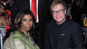 Feliz cumpleaños a dos enormes: Aretha Franklin y  Elton John