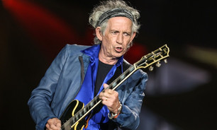 "Keith Richards presenta el videoclip de ""Key to the highway"""