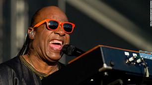 Stevie Wonder, Diana Ross y John Legend juntos