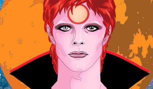 Se viene la novela gráfica de David Bowie