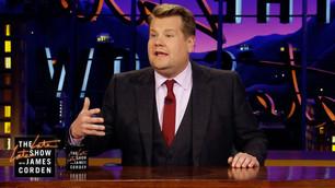 James Corden presenta 'The Late Late Show' desde su casa