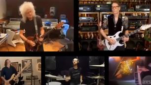 Brian May junto a reconocidos músicos crean versión hogareña de 'Bohemian Rhapsody'
