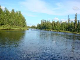 сплав по реке индель