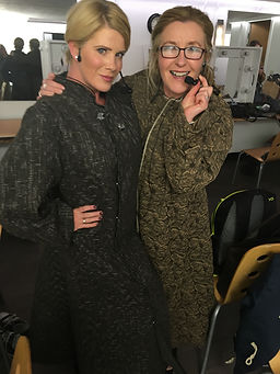 Emer McParland and Shona backstage before Game Of Thrones concerts.jpg
