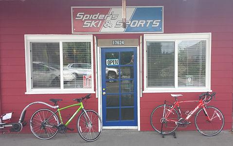 Spider's SKI & SPORTS storefront