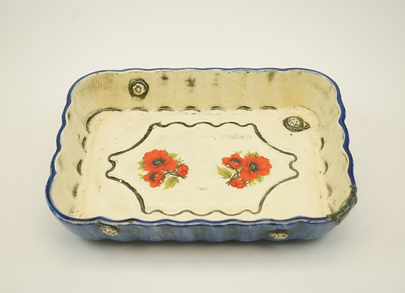 Rectangular Casserole Platter - Denim