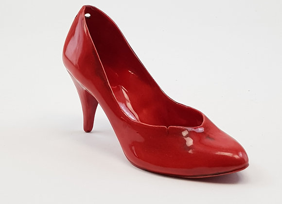 Red Stiletto Succulent Shoe