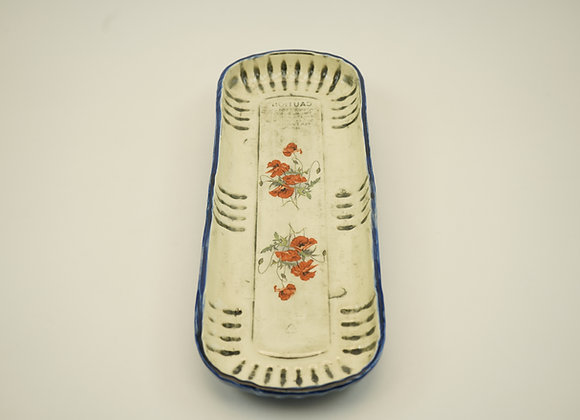 Bread Boat Plate - Denim
