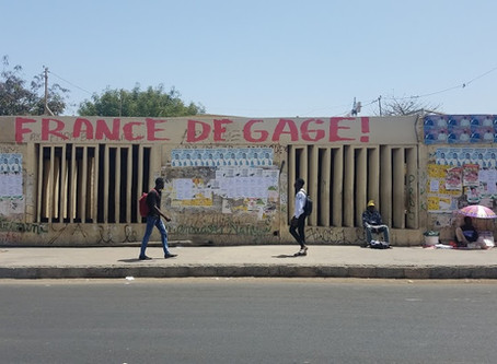 Avantee's MA thesis: conversations with North-South migrants in Dakar, Senegal