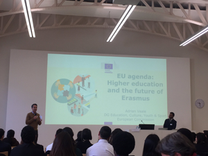 Director General of Education, Culture, Youth & Sports for the European Commission discusses EU agendas for Higher Education and the future of Erasmus