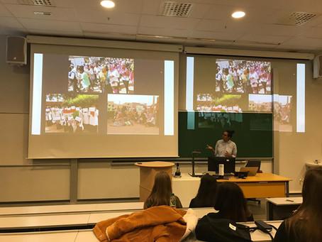 Cohort 8 students present at Amnesty International's Human Rights Week in Stavanger