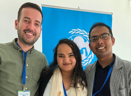 EMMIRians in Ecuador: participating in the Global Youth Forum 2020