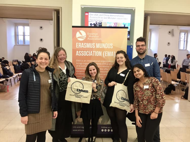 EMMIR (European Master in Migration and Intercultural Relations) attend Erasmus Mundus General Assembly in Vienna, Austria in February 2019