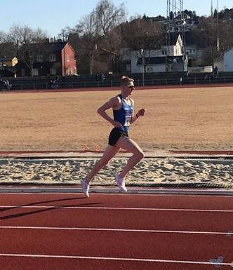 Klubbrekord på 5000 m