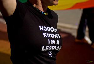photo credit: Nobody knows I'm a lesbian - shirt via photopin (license)