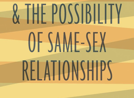 """Review: """"Scripture, Ethics & the Possibility of Same-Sex Relationships"""""""