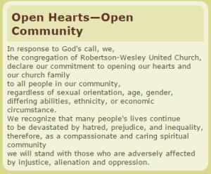 open statement