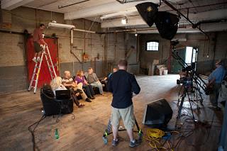 on the set of Pastors' Conversation