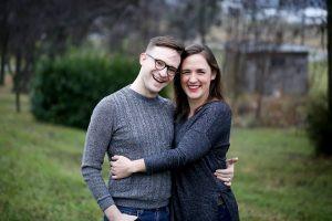 Bethany with partner Zach