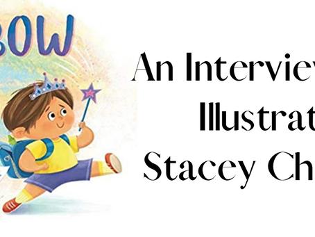 """Rainbow Boy"" - Interview with Illustrator Stacey Chomiak"