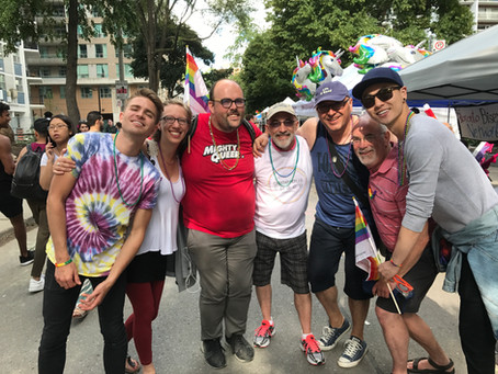 Reflections on Pride 2017 ~ by Wendy Gritter