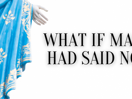 What If Mary Had Said No?