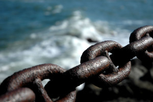 seawall chain via photopin (license)
