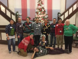 Generous Space Christmas Party 2016