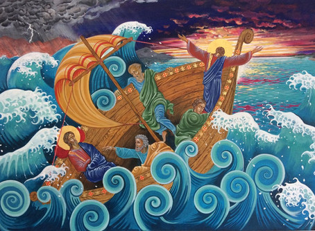 Second Sunday of Lent ~ Navigating the Storm