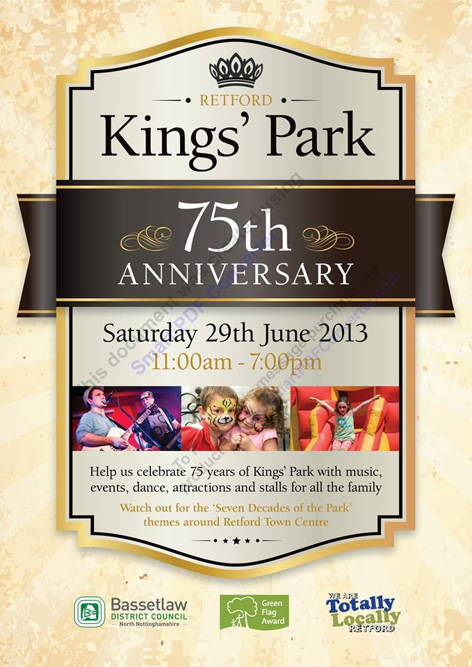 Kings Park 75th Anniversary