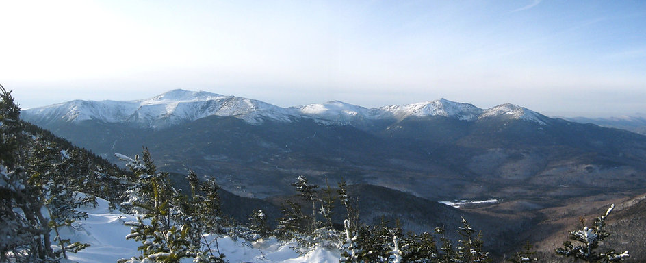Presidenial Mountain Range, White Mountains NH