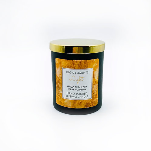 Light Crystal Candle
