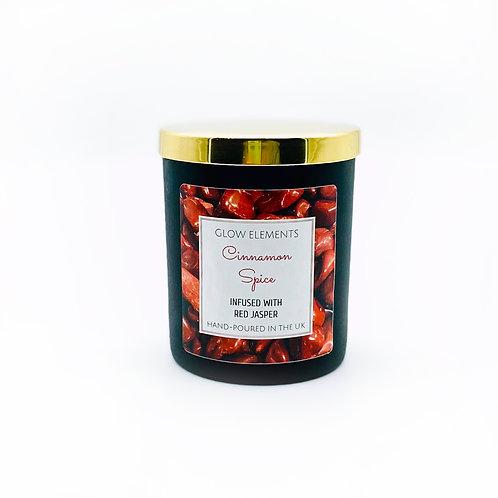 Cinnamon Crystal Candle