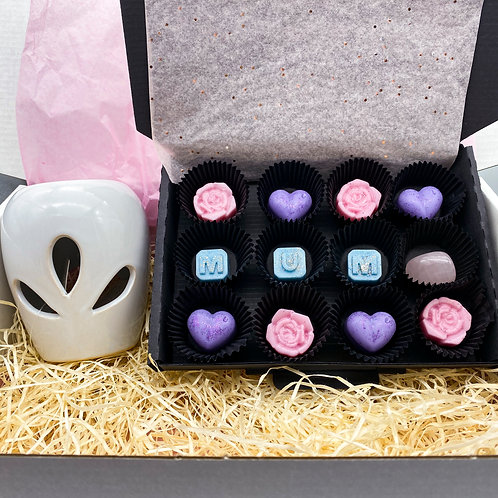 Mothers Day Wax Melt Box & Burner Gift Set