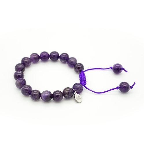 Amethyst Slider Bracelet