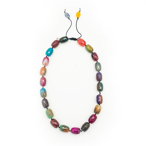 Rainbow Agate Necklace