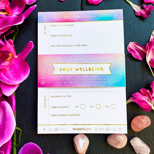 Daily Wellbeing Pad