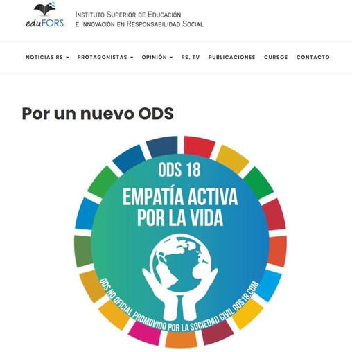 Por un nuevo ODS, escrito por el blog eduFORS de Argentina