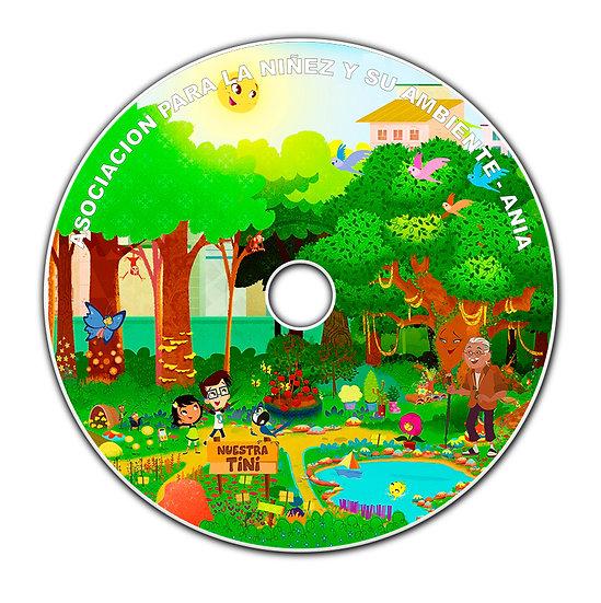 DVD con la metodología TiNi