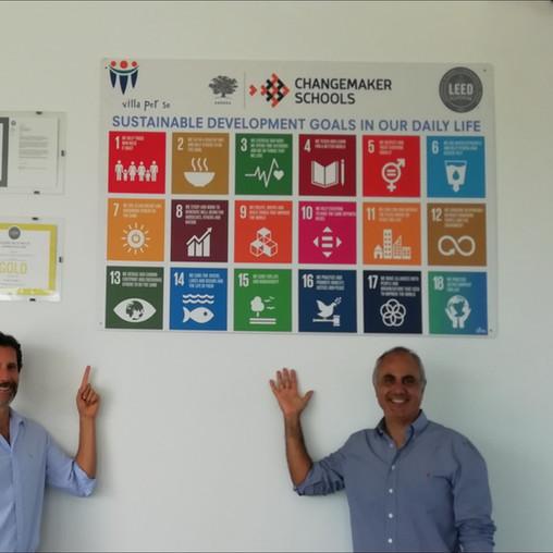 Colegio Villa Perse en Lima, Perú incorpora el ODS 18