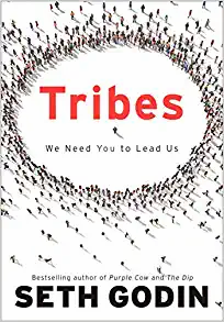 The cover of Tribes by Seth Godin