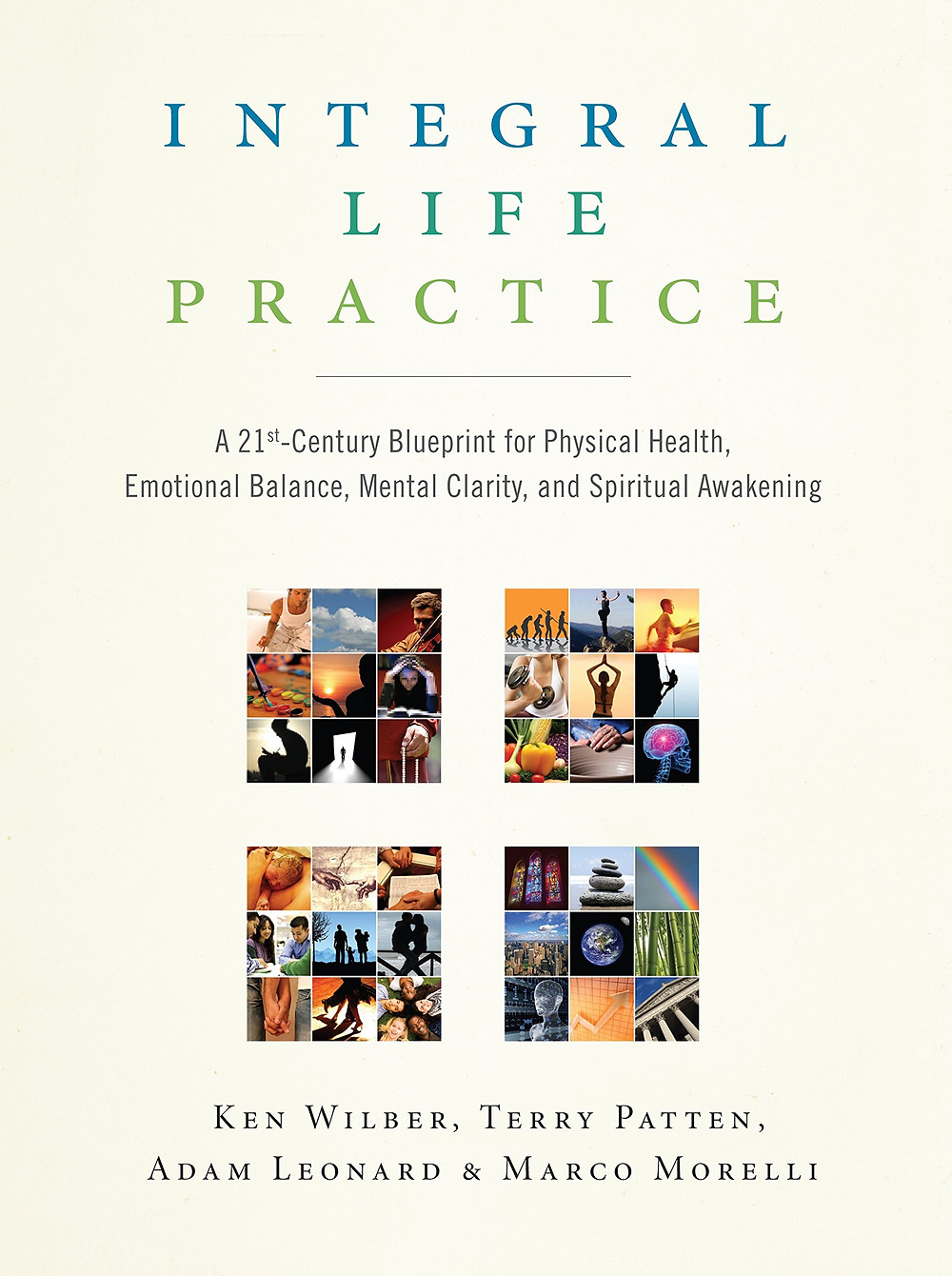 The cover of Integral Life Practice