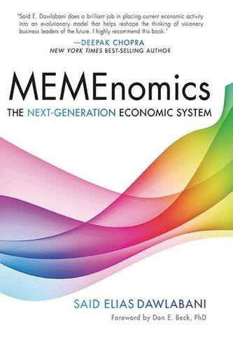 The cover of MEMEnomics by Said Elias Dawlabani