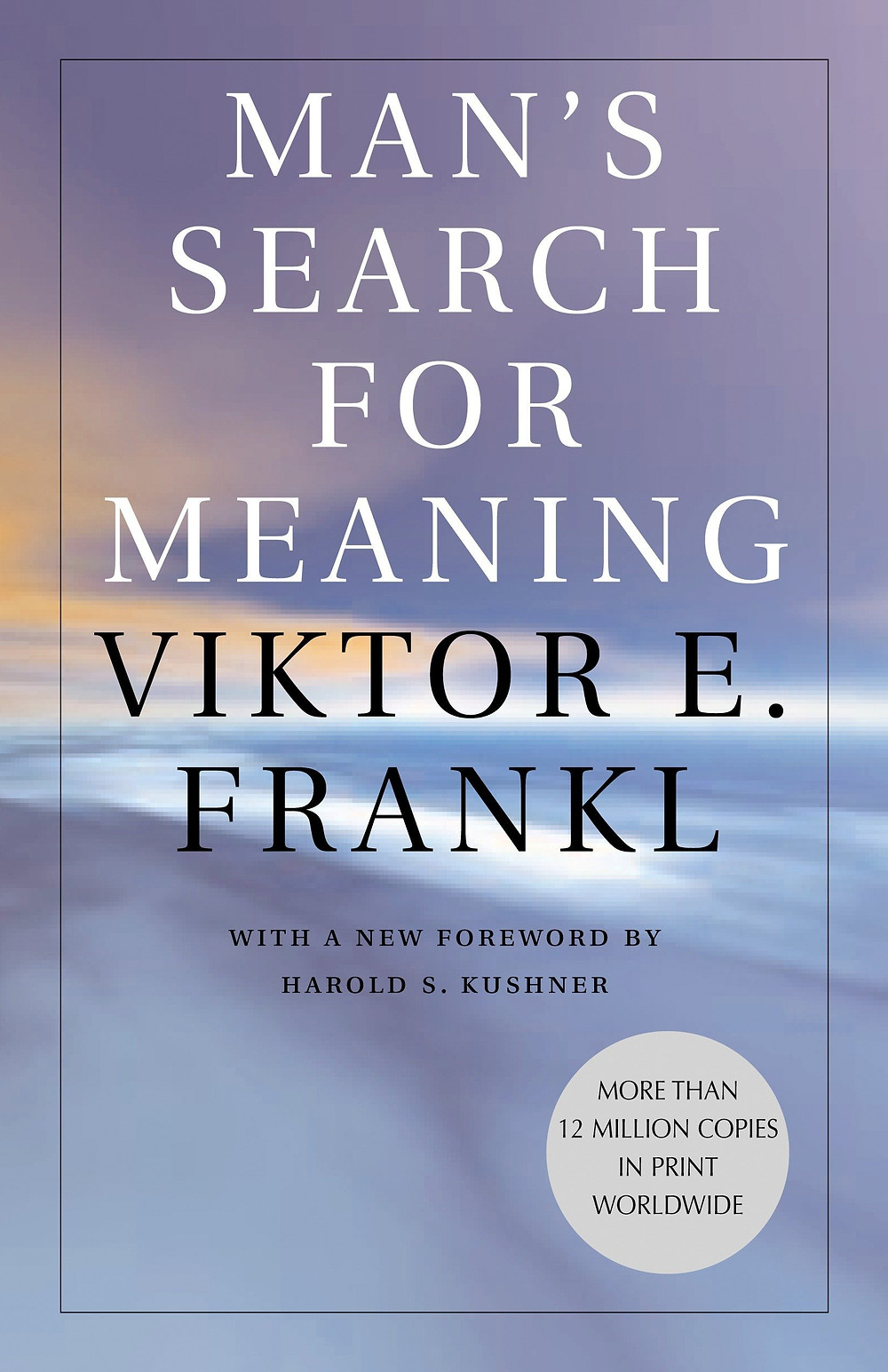 The cover of Viktor Frankl's Man's Search for Meaning