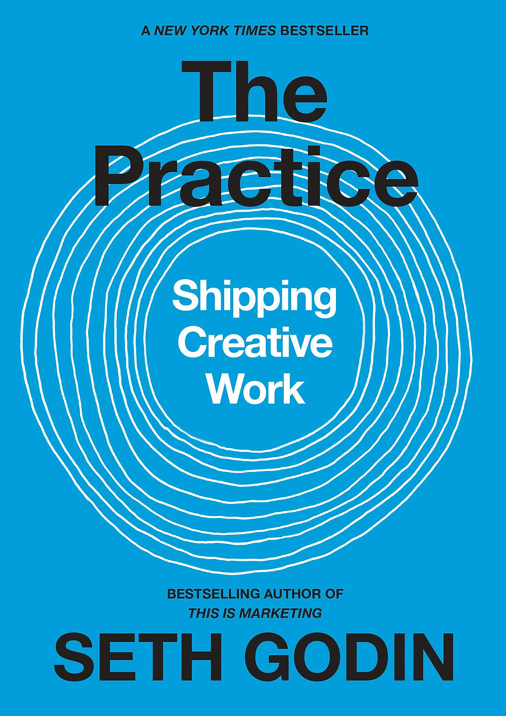 The cover of The Practice by Seth Godin